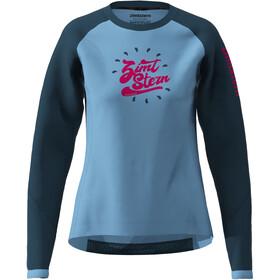 Zimtstern PureFlowz Koszulka z długim rękawem Kobiety, heritage blue/french navy